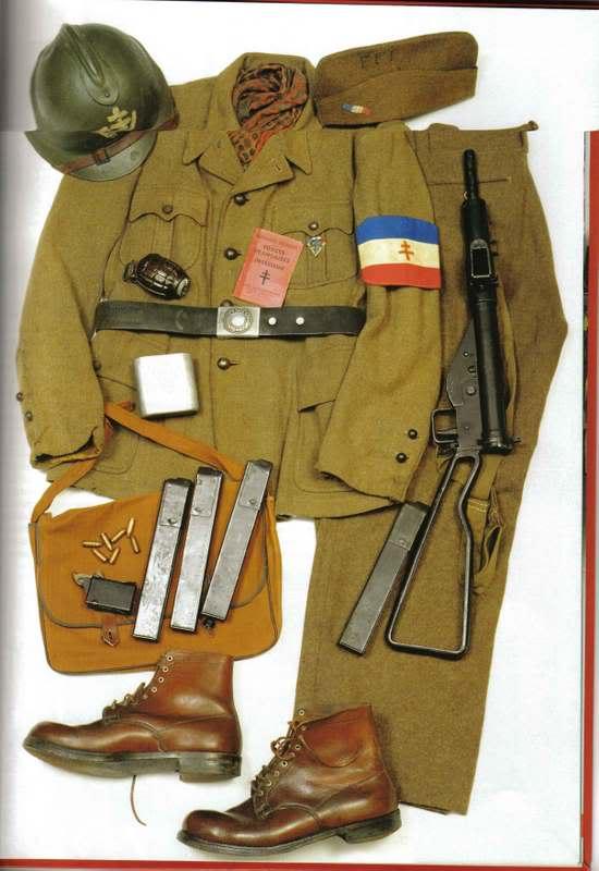 La tenue modèle 1941 / Armistice Ffi10