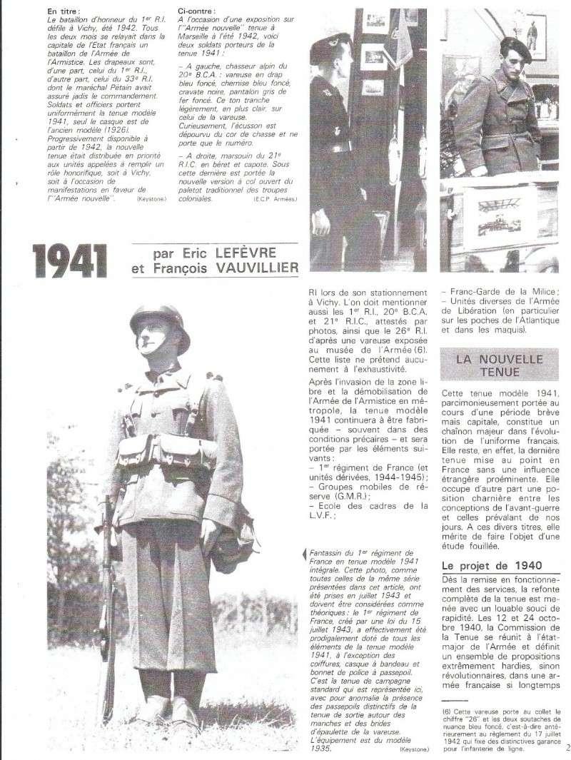 La tenue modèle 1941 / Armistice Img_0311