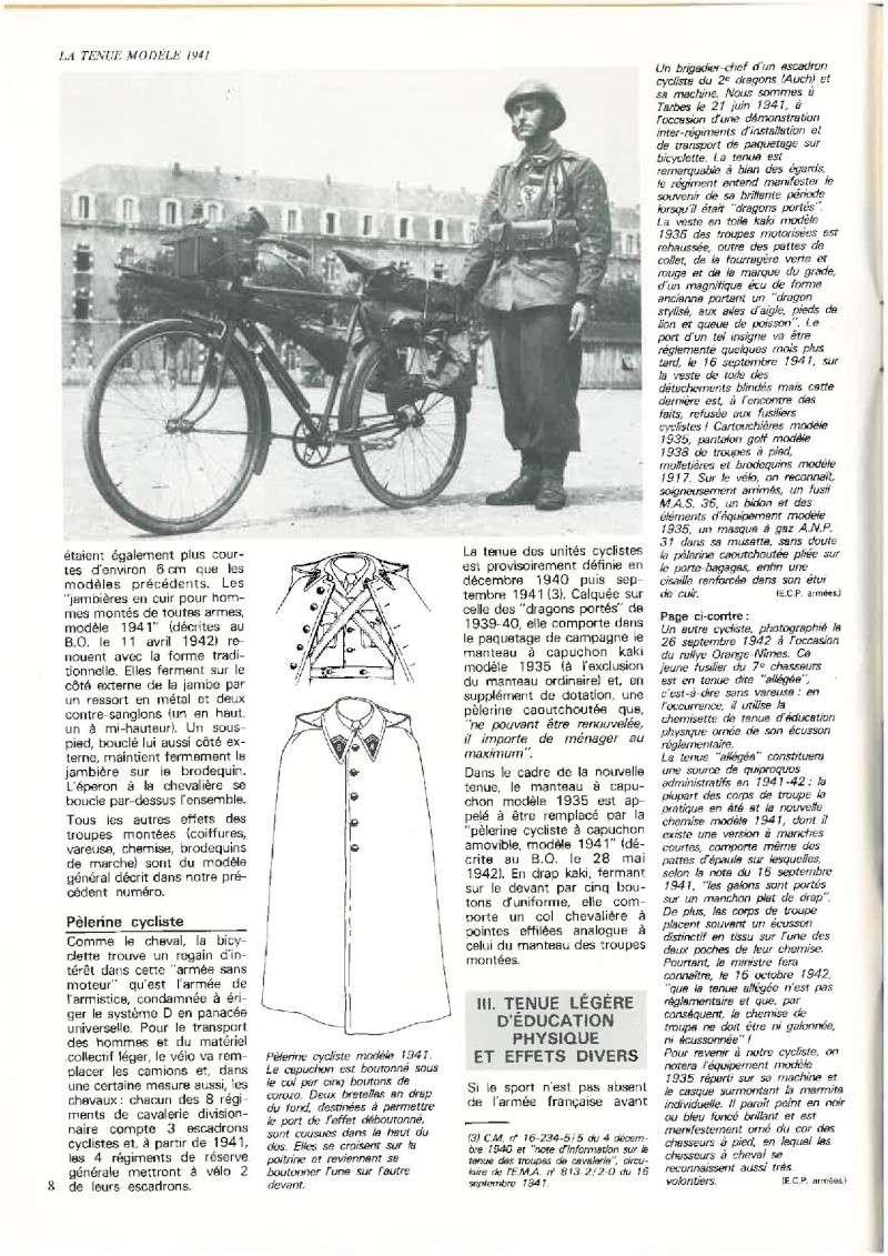 La tenue modèle 1941 / Armistice P810