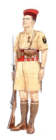 La tenue modèle 1941 / Armistice Sargen10