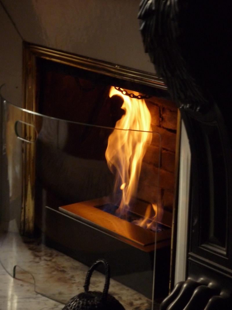 Qu'il fait bon se détendre devant un bon feu. Et vous, êtes vous plutôt cheminée, poêle ou … poêle cheminée ? P1000211