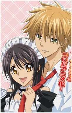 Kaichou wa Maid-sama!  <---- it was a good manga now anime YAY!!!  (5/4/10) Kaicho10
