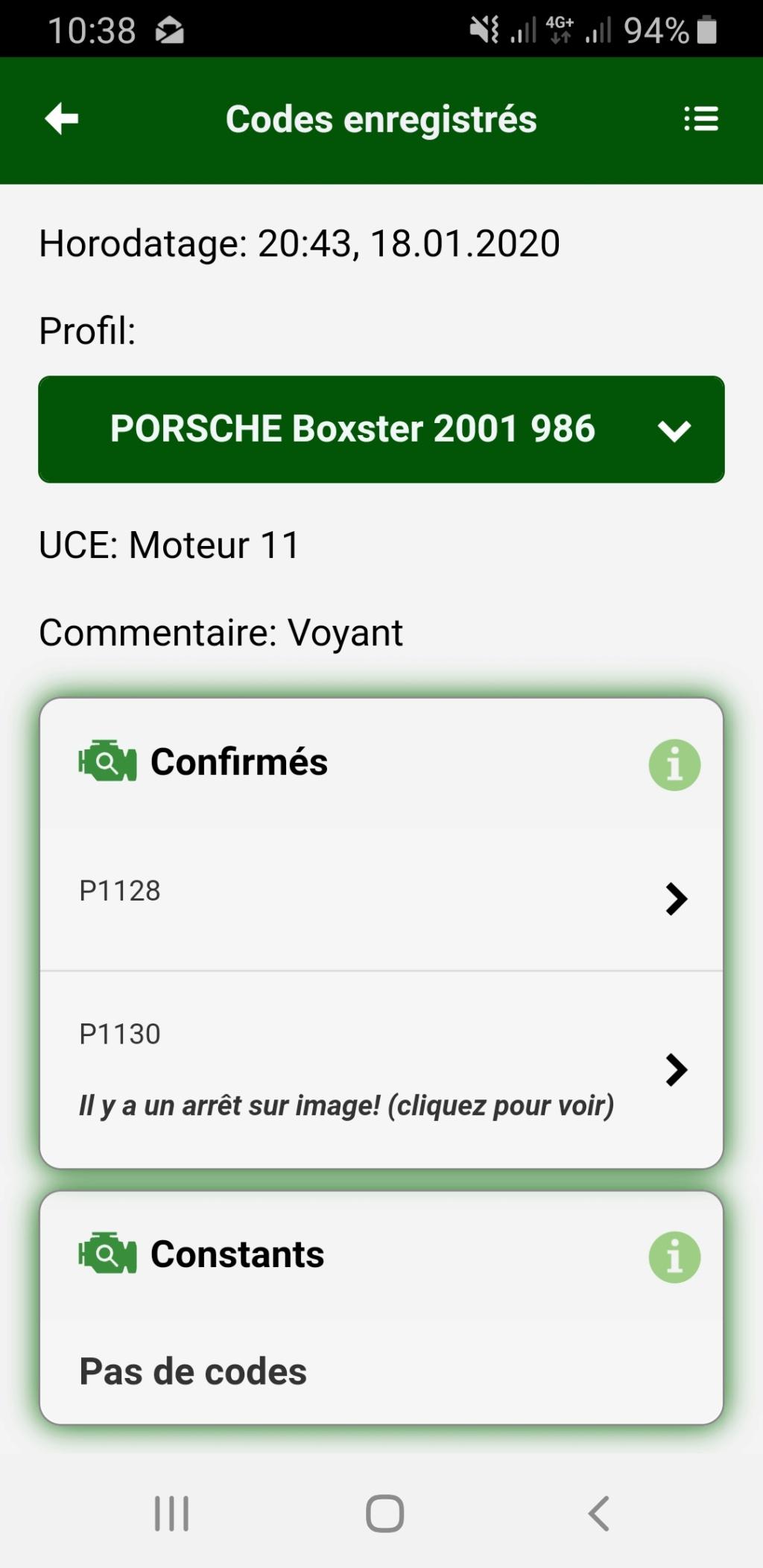 Voyant Moteur allumé Code_e10