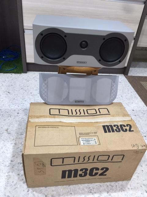 Mission M3C2 Center Speaker-Used Missio10
