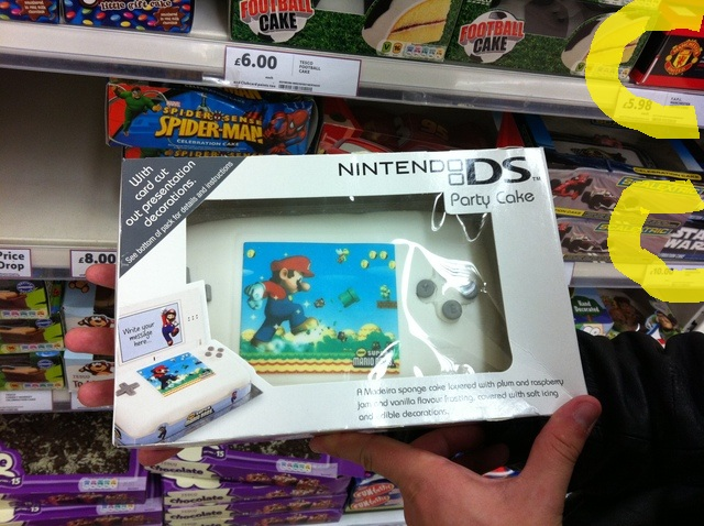 Gateau Nintendo DS Cake11