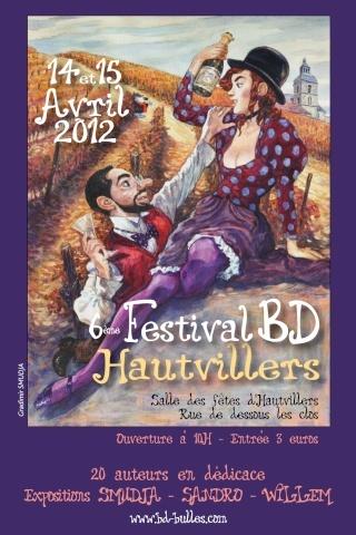 Festival de BD à Hautvillers (Marne) les 14 / 15 avril 2012..Viendez ! Couv10