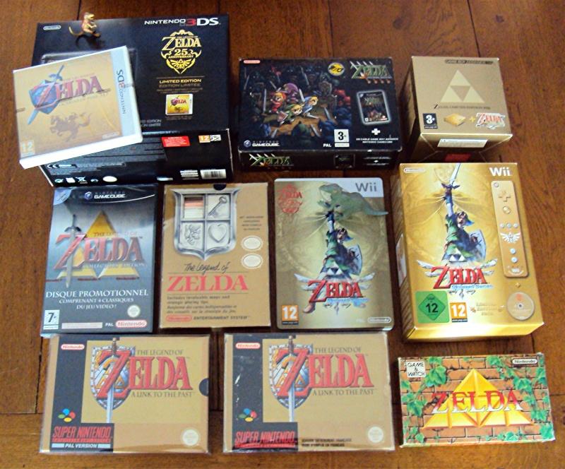 Ma p'tite collec Game Boy / Nintendo / SNK / ARCADE.. [MAJ mai 2013] Zelda12
