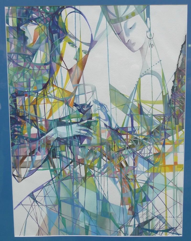 A 50 lieues    ( Salon d'Art de Brandérion) L1180531