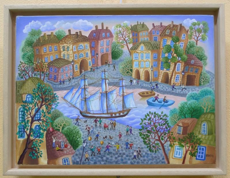 A 50 lieues    ( Salon d'Art de Brandérion) L1180534