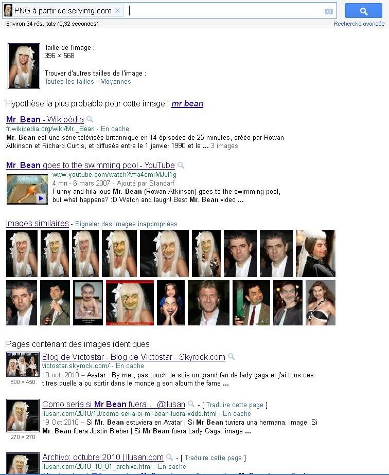 Défis Google: Recherche d'images à partir d'une Image Rechag10
