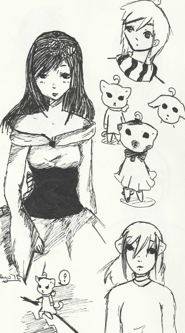 Mes choses à moi [Ayumi-chan] - Page 4 Croqui12