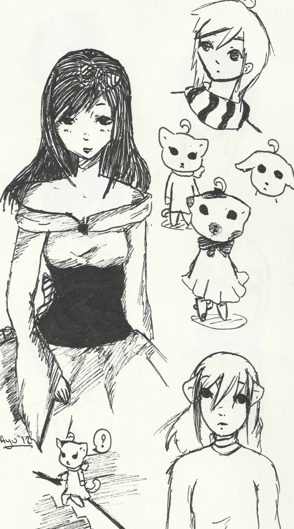 Mes choses à moi [Ayumi-chan] Croqui12
