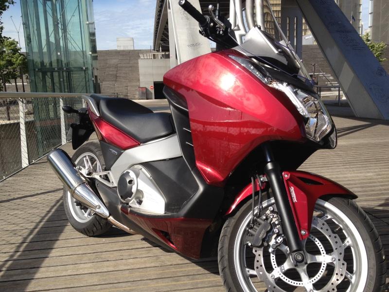 J'ai essayé le Honda INTEGRA 700 Img_0619