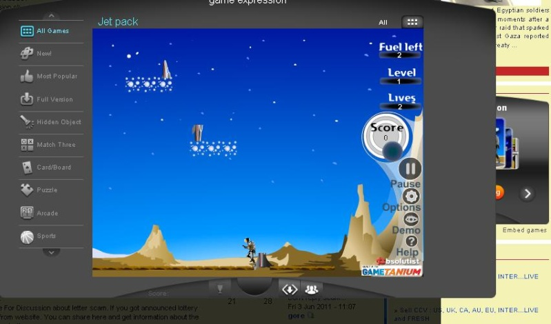 New feature Playing Game at Forum Game_110