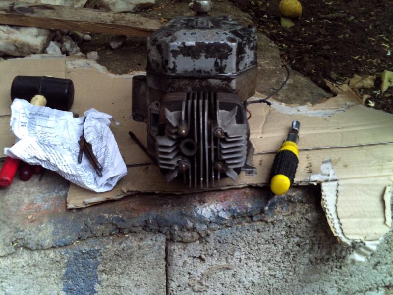 Preparazione Motore Rizzato Monomarcia Pict0038