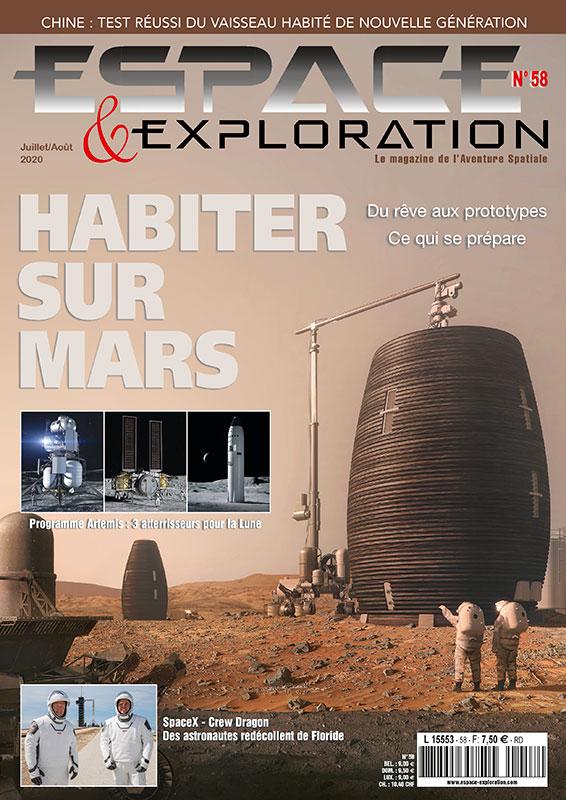 Espace & Exploration n°58 - poster cadeau abonnés Couv-e14