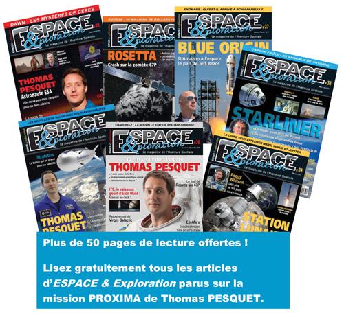 [Espace & Exploration] Articles mission Pesquet en lecture gratuite Covid112