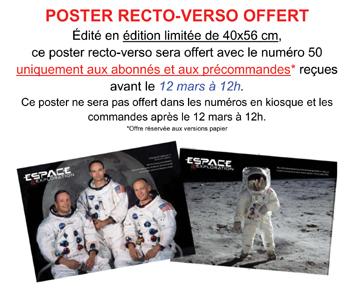 Espace & Exploration n°50 - Collector avec un petit cadeau Poster12