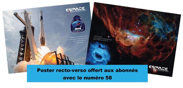 Espace & Exploration n°58 - poster cadeau abonnés Poster13