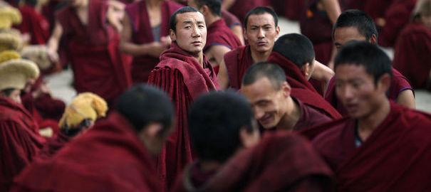 """Immolations : """"Se sacrifier par le feu pour que le Tibet reste tibétain"""" 92168710"""