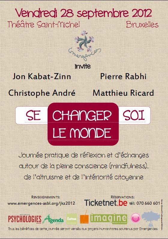 Se changer soi, changer le monde - Conférence avec Matthieu Ricard à Bruxelles - 28 septembre 2012 Sans_t22