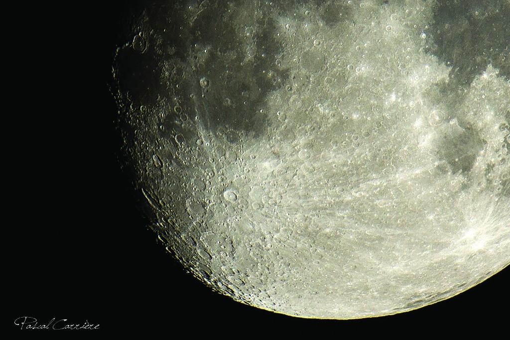 LA MIENNE DE LUNE et UN CIEL ETOILE Lune210