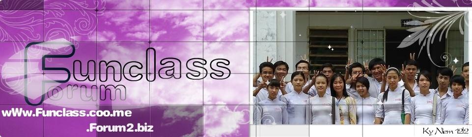 Funclass Forum | 122's Mini Forum