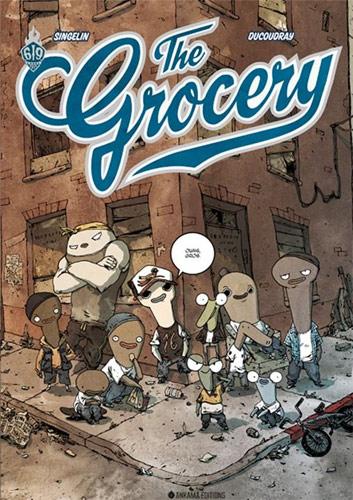 The Grocery tome 1  Scénario : Aurélien Ducoudray Dessins : Guillaume Singelin Album-10