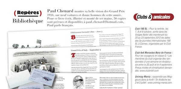 message reçu du magazine Etoiles Passion Unimog11