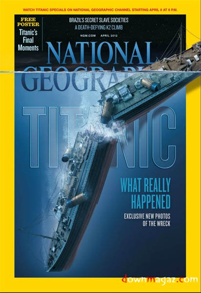 National Geographic Avril 2012 : TITANIC 13332610