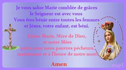mois d'octobre - mois du Rosaire ensemble prions - Page 3 22781111