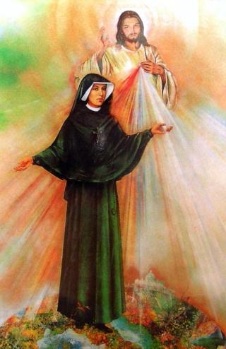Bonne fête à Sainte Faustine! Jour de Miséricorde à tous! 43296112