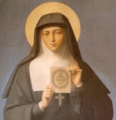 Sainte du jour :Sainte Marguerite-Marie Alacoque Sainte11