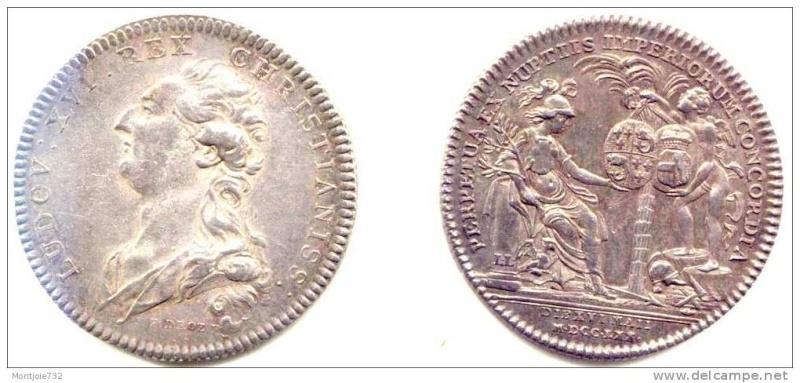 Pièces, médailles et médaillons mis en vente - Page 4 Mariag10