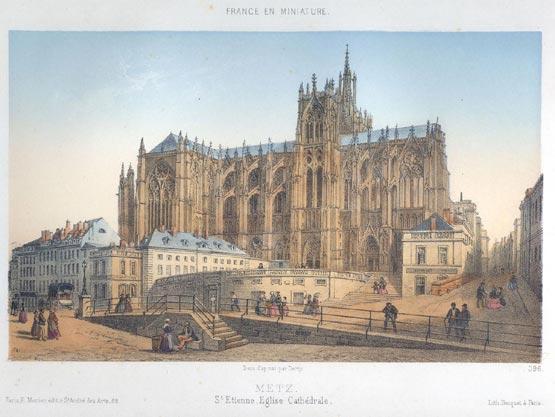Notre Dame et les cathédrales de France Metz_010