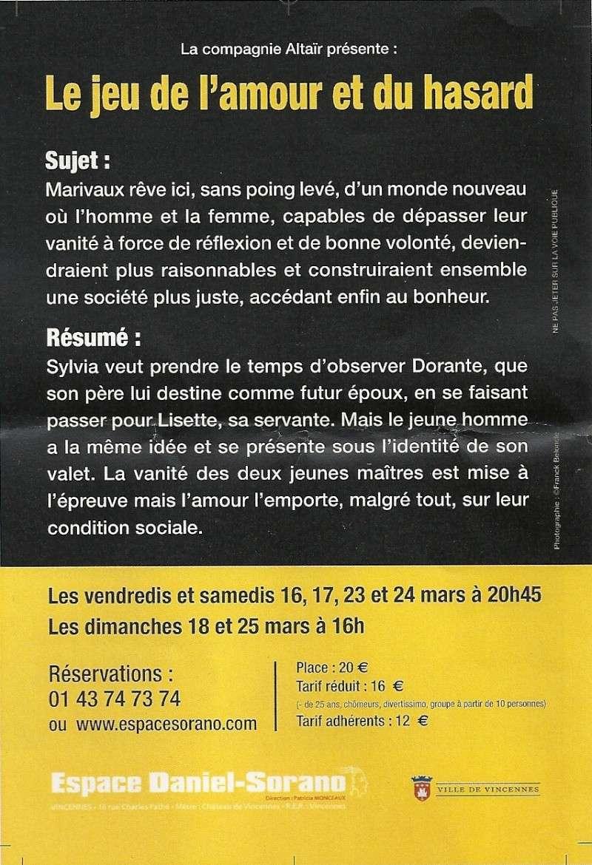 Spectacles divers passés / hors Marie-Antoinette - Page 2 Numari12