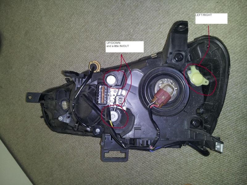 leveling the 2011 lancer headlights  20111210