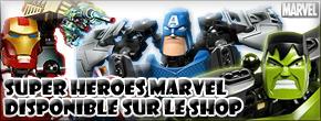 [Produits] LEGO Super Héros Marvel, sur la boutique en ligne Marvel10