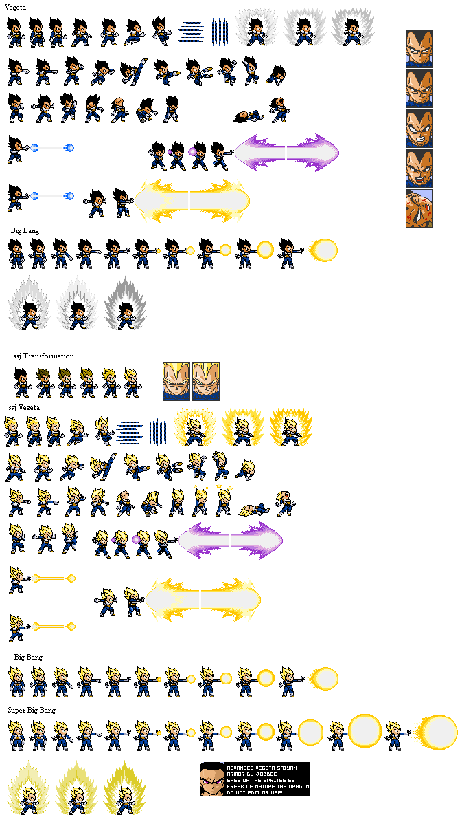Good vegeta lsw sprites (custom poses):D Vegeta11