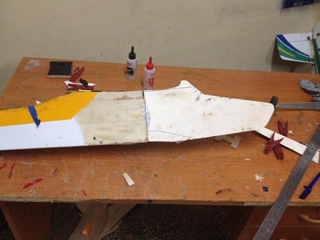 Réparation Calmato trainer + plan 215