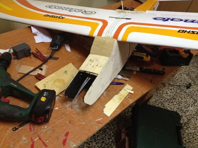 Réparation Calmato trainer + plan 514