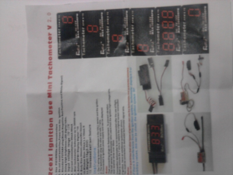 On boad Digital Tachometer Photo030