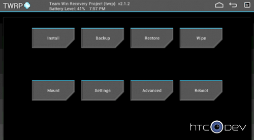 [RECOVERY] TWRP2.5 Recovery pour TF300T Recove10