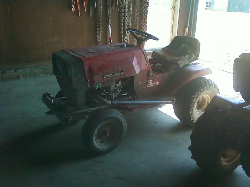 Dynamark Mud/trail mower Sspx0015