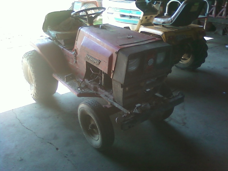 Dynamark Mud/trail mower Sspx0016