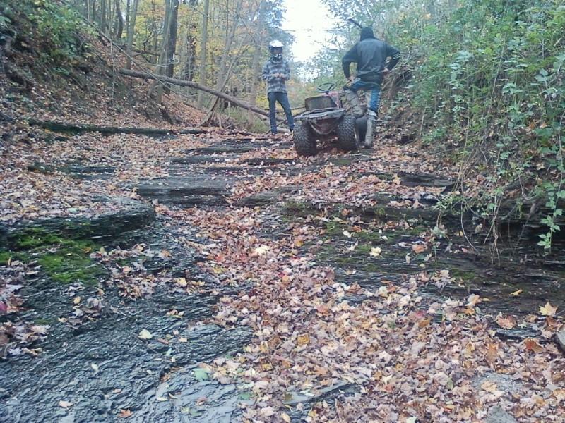 Dynamark Mud/trail mower Sspx0028