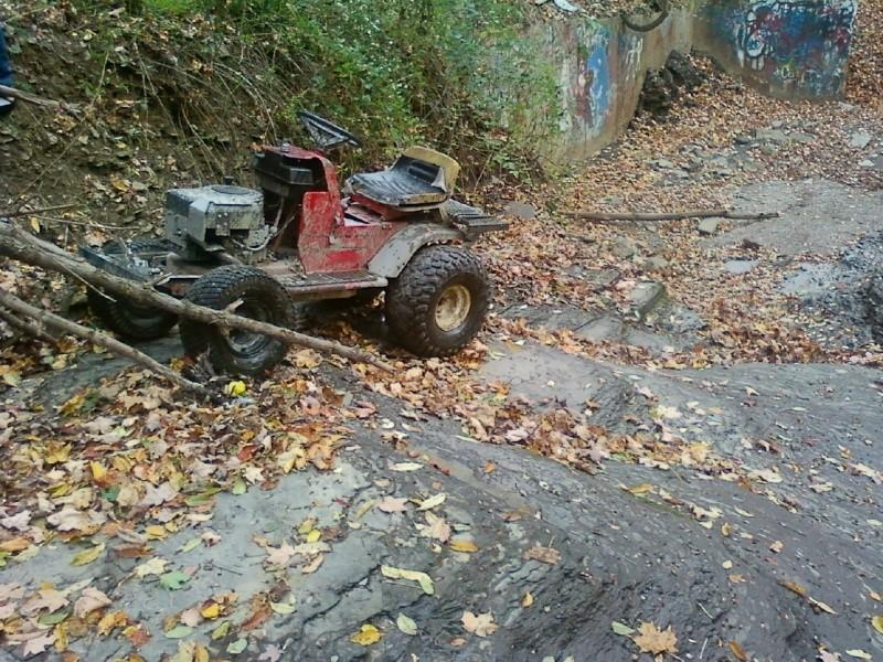 Dynamark Mud/trail mower Sspx0029