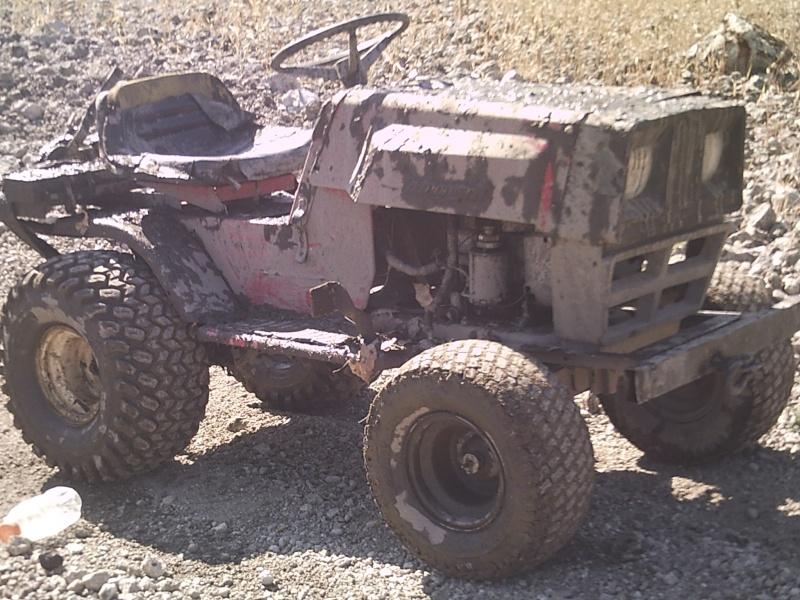 Dynamark Mud/trail mower Sunp0010