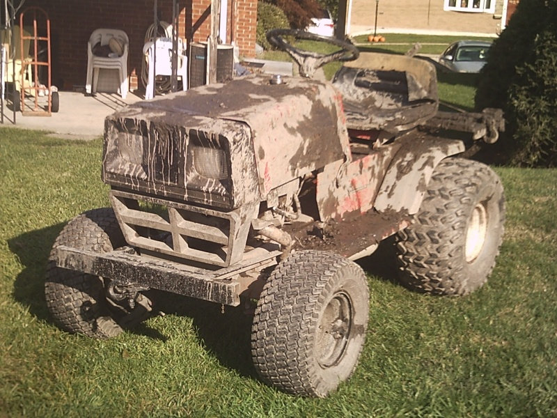 Dynamark Mud/trail mower Sunp0012