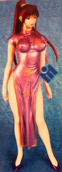 Figurine résine 1/6 avec robe chinoise F110
